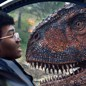 Bryce Dallas Howard and Justice Smith in 'Jurassic World: Fallen Kingdom'