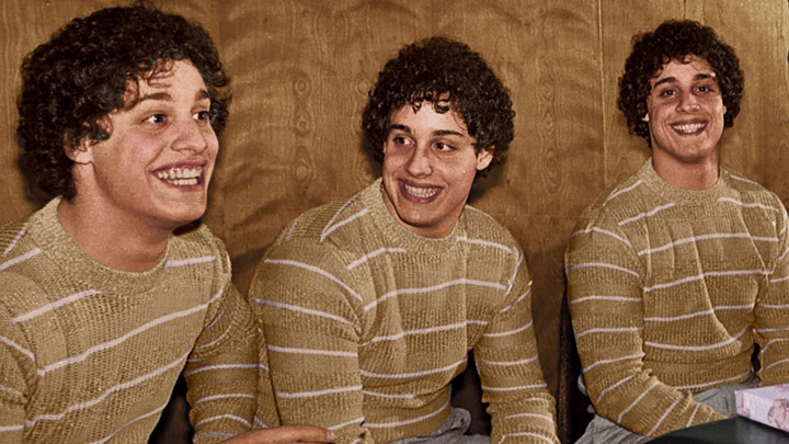 A still from 'Three Identical Strangers'