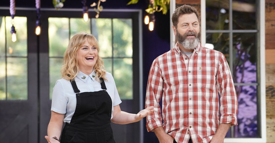 nbc 39 s 39 making it 39 with amy poehler nick offerman is existential comfort the atlantic. Black Bedroom Furniture Sets. Home Design Ideas