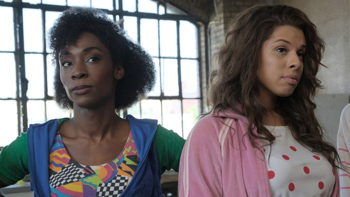 Candy (Angelica Ross) and Lulu (Hailie Sahar) of the FX drama 'Pose'