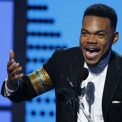 Chance the Rapper at the 2017 BET Awards