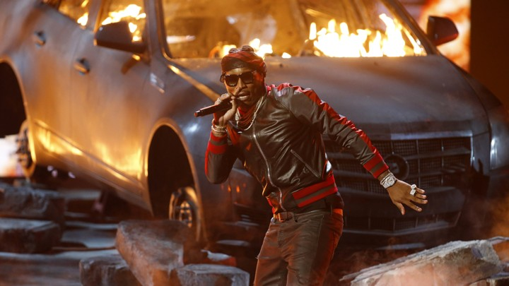"Future performs ""Wicked (Purple Reign)"" at the 2016 BET Awards"