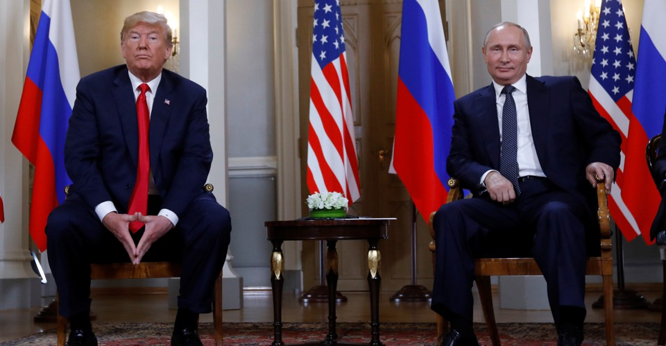 Trump Sides With the Kremlin, Against the U.S. Government