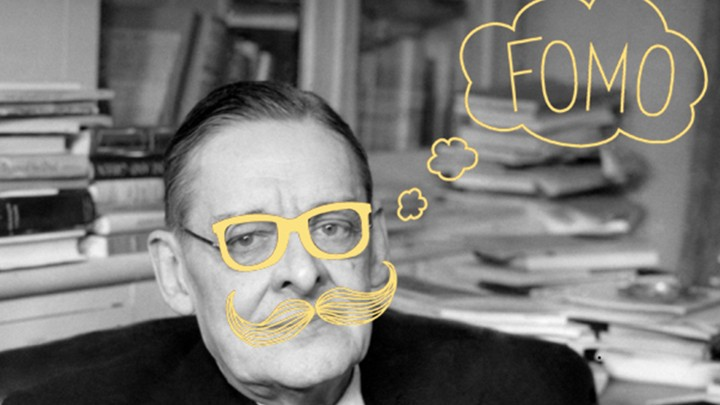 When Ts Eliot Invented The Hipster The Atlantic