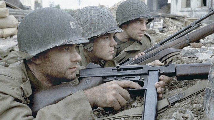 A still from 'Saving Private Ryan'