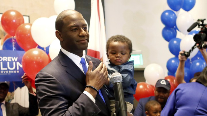 Image result for photos of deSantis and gillum