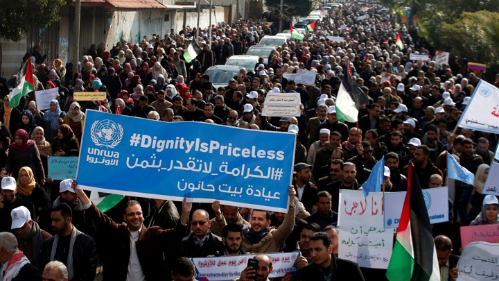 U S  Funding Freeze Hurts Palestinians, Aid Groups - The