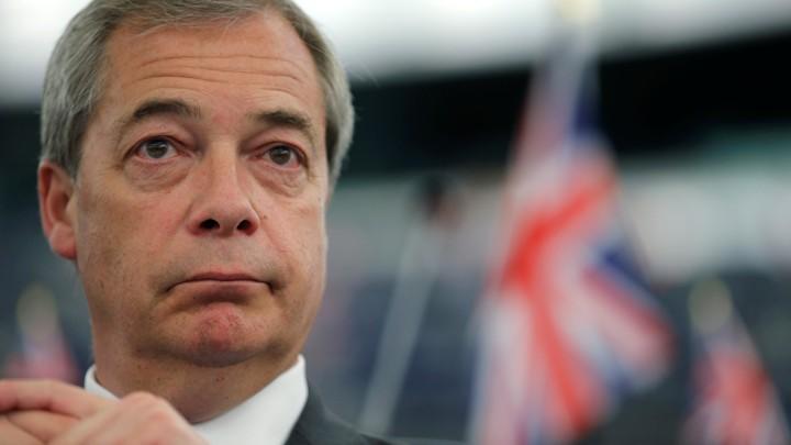 Former U.K. Independence Party Leader Nigel Farage