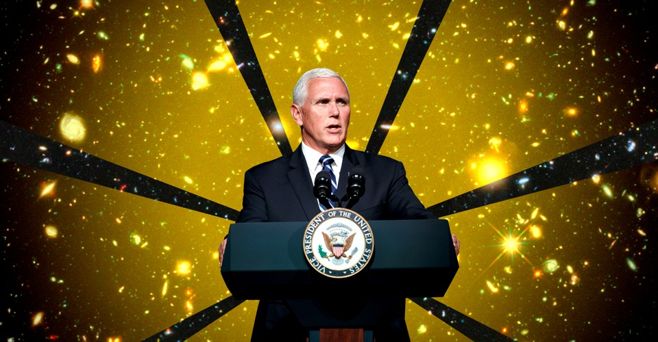 Mike Pence and the Gospel of NASA - The Atlantic