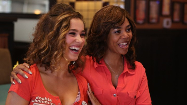 Haley Lu Richardson and Regina Hall in 'Support the Girls'