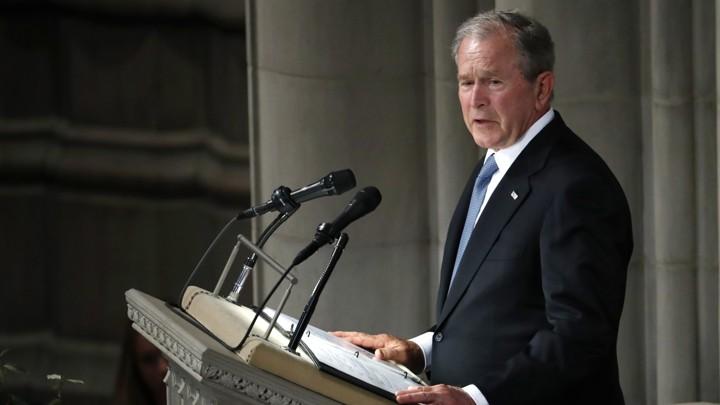 George W Bush S Eulogy For John Mccain Full Text The Atlantic