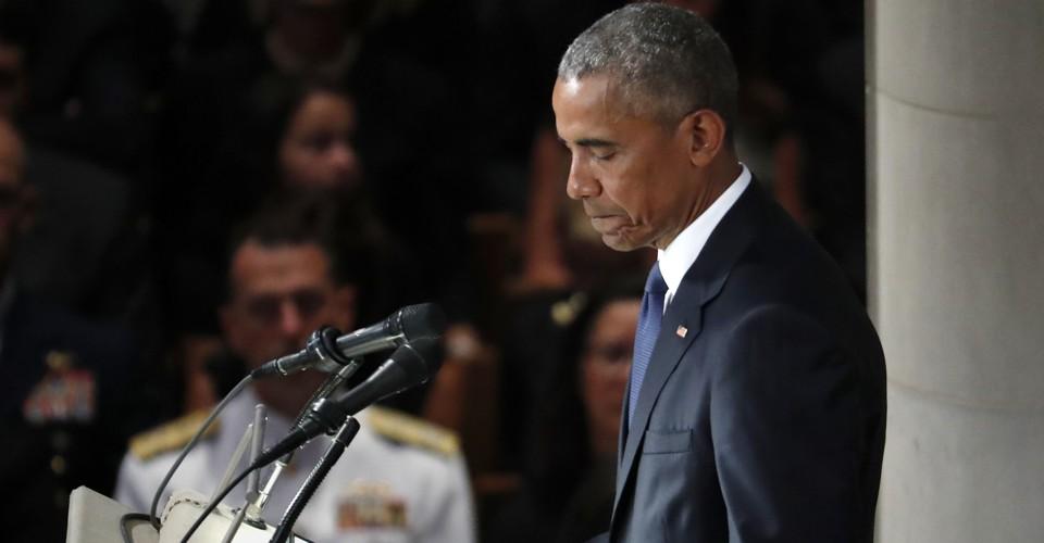Barack Obama's Eulogy for John McCain