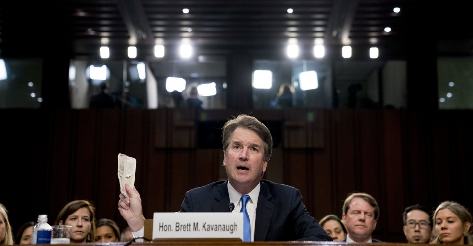 The White House's Plans for Kavanaugh? 'Plow Ahead'
