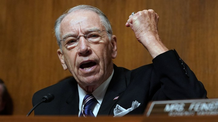 Image result for kavanaugh hearing grassley