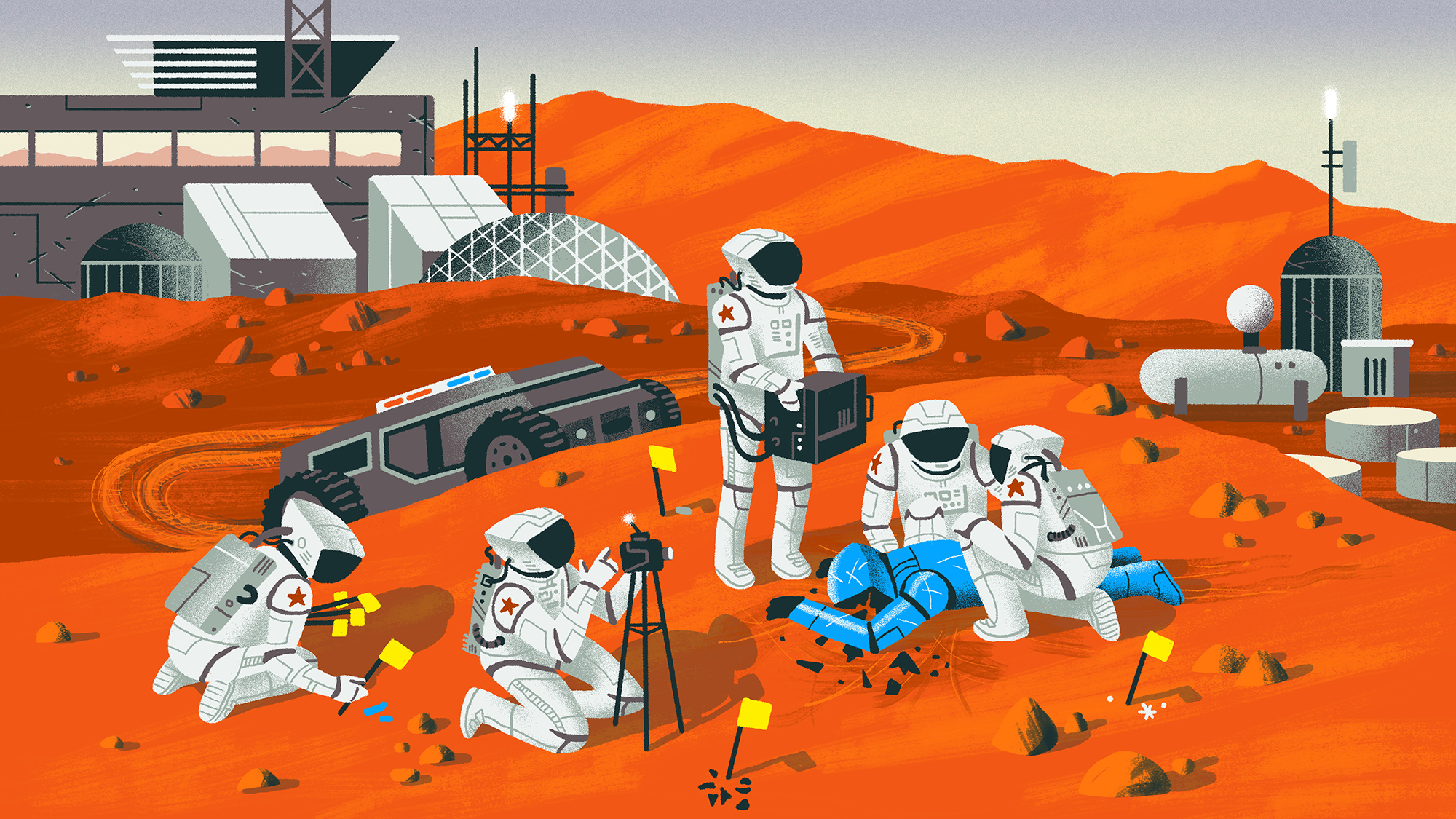 How Mars Will Be Policed The Atlantic