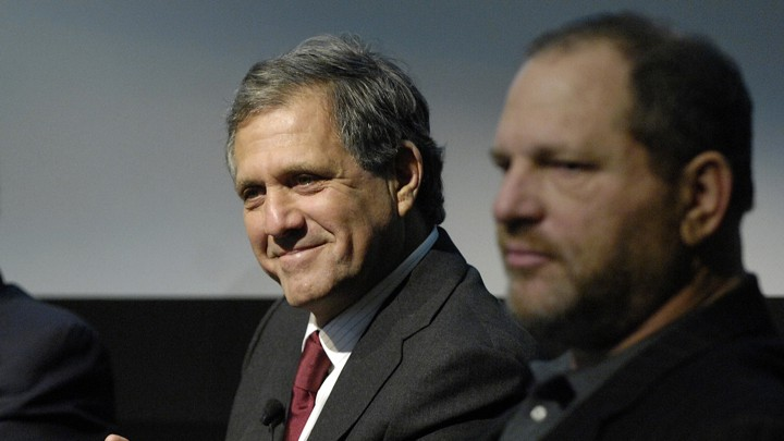 Les Moonves and Harvey Weinstein