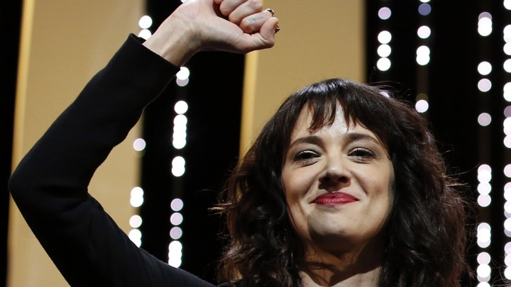 Asia Argento at Cannes 2018