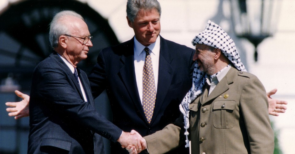 Oslo At 25 Israeli Palestinian Peace Remains Elusive The Atlantic