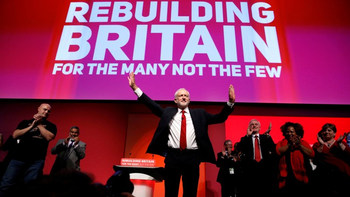 Britain's Labour Party leader, Jeremy Corbyn