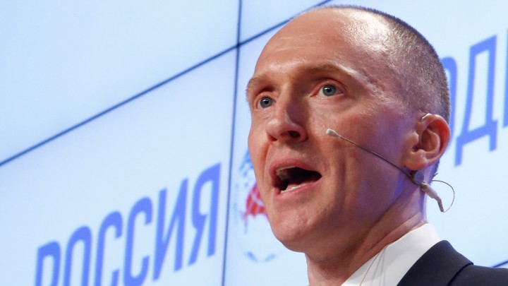 CARTER PAGE SUES DNC AND ITS LAW FIRM OVER THE STEELE DOSSIER