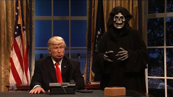 Alec Baldwin as Donald Trump on 'SNL'