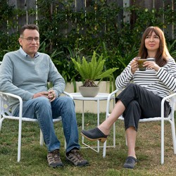 Fred Armisen and Maya Rudolph in Amazon's 'Forever'