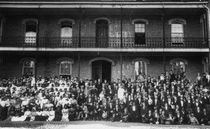 Students at Berea College in 1899