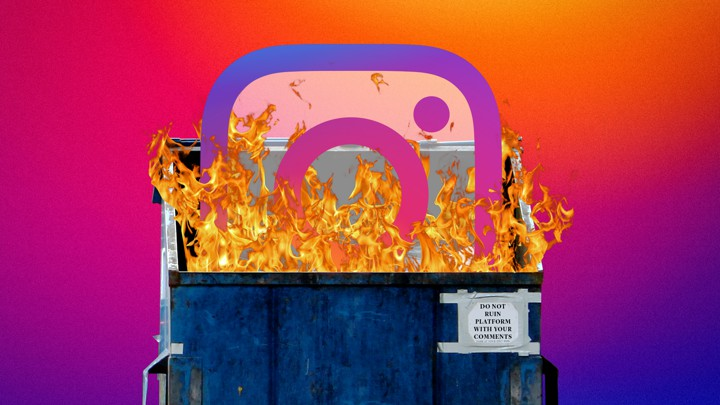 Instagram Has a Massive Harassment Problem - The Atlantic