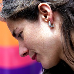 Rebecca Gomperts, founder of Women on Web and Aid Access, in 2001