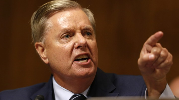 lindsey graham s supports trump to avoid 2020 primary the atlantic