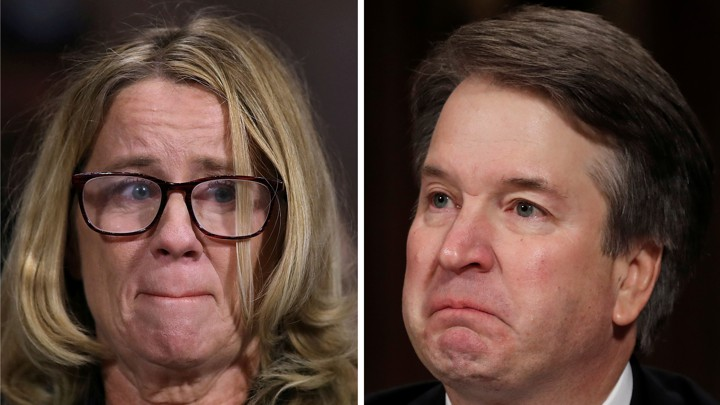 Christine Blasey Ford and Brett Kavanaugh