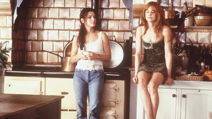 Sandra Bullock and Nicole Kidman in 'Practical Magic'