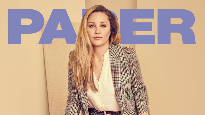 Amanda Bynes on the cover of Paper magazine