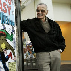 A photo of Stan Lee