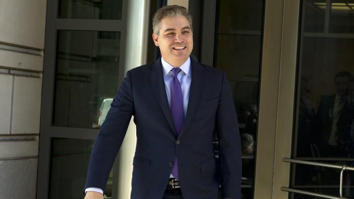 Trump Reverses Courts And Restores Jim Acosta S Pass The Atlantic