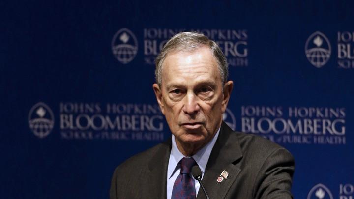 Michael Bloomberg Donates $1 8 Billion to Johns Hopkins