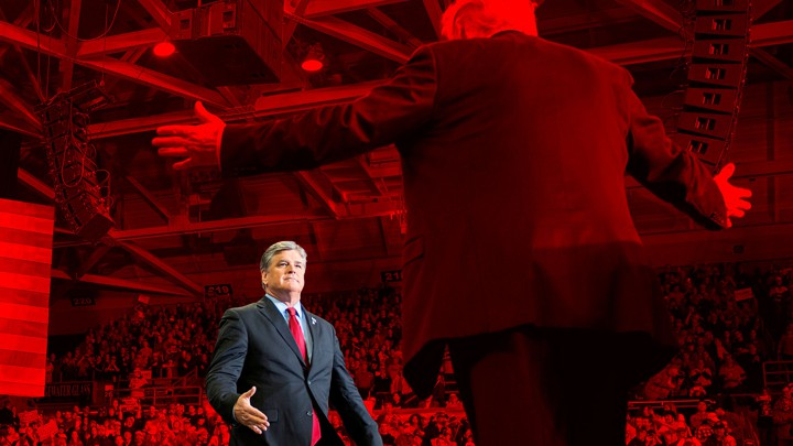 1d821f3b7 Sean Hannity  Donald Trump s True Press Secretary - The Atlantic