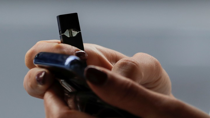 Juul's New Marketing Leaves Out Help for Addicted Teens