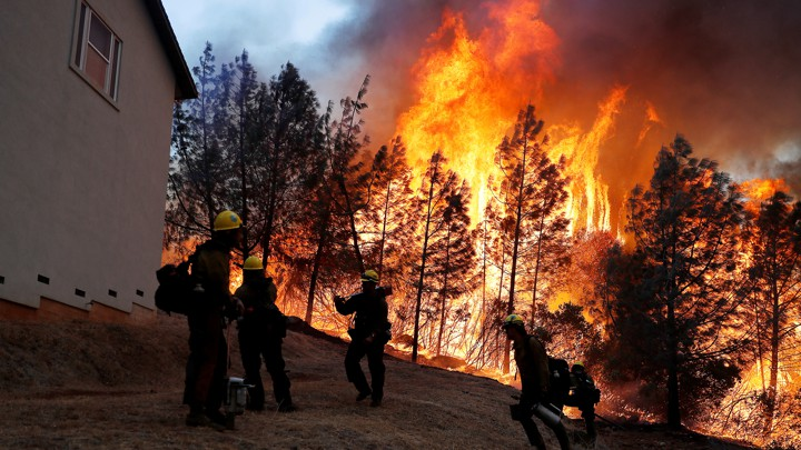 In Era When Hurricanes And Wildfires >> California Wildfires Why Humans Can T Control Them The Atlantic