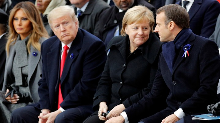 Trump's Bromance With Macron Fizzles Spectacularly