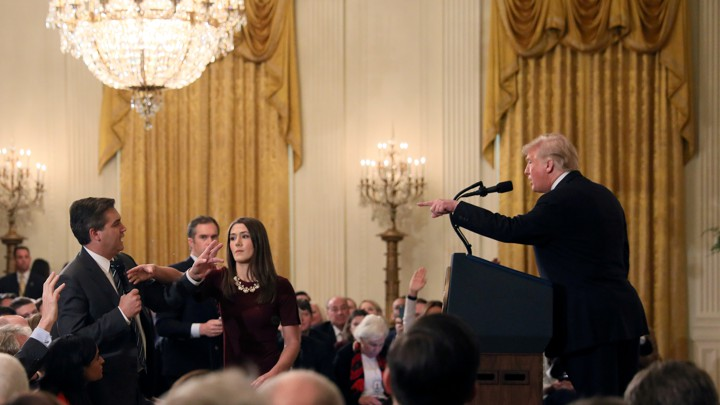 The Looming Legal Battle Over Jim Acosta's Press Pass