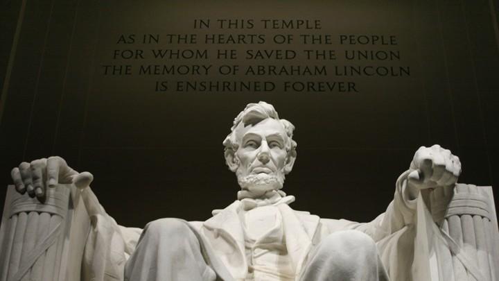 The Lincoln Memorial in Washington, D.C.