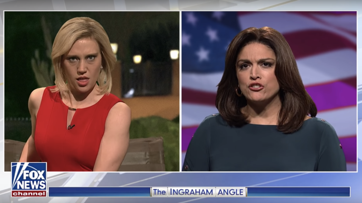 Kate McKinnon and Cecily Strong in 'Saturday Night Live'