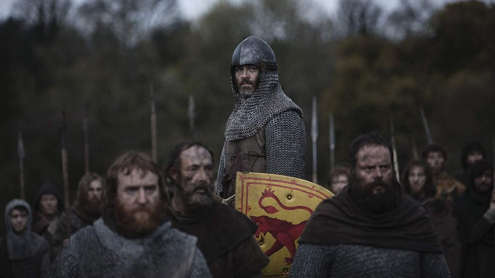 Chris Pine in 'Outlaw King'
