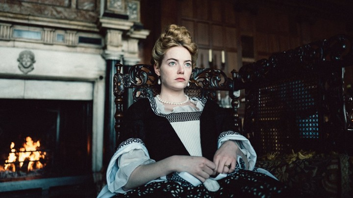 Emma Stone in 'The Favourite'