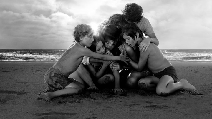 A still from Alfonso Cuaron's 'Roma'