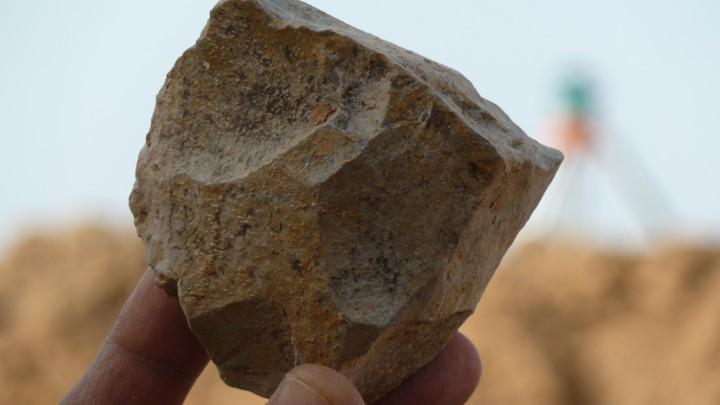 An Oldowan core from Ain Boucherit