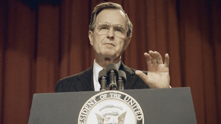 After All These Years Is Bush >> George H W Bush Helped Reduce Acid Rain The Atlantic