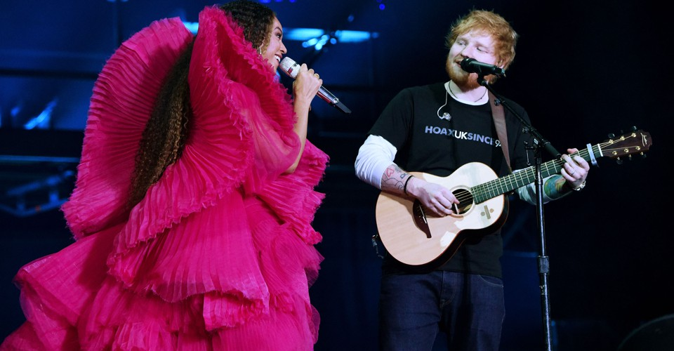 The Deeper Meaning Behind Ed Sheeran and Beyoncé's Clothing Clash