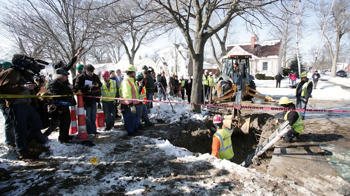 In Flint Mi Theres So Much Lead In >> How Machine Learning Found Flint S Lead Pipes The Atlantic